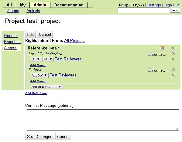 «Gerrit Code Review»: краткое руководство с картинками