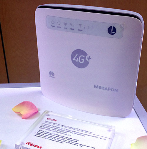 Huawei E5186 LTE-A with 802.11ac