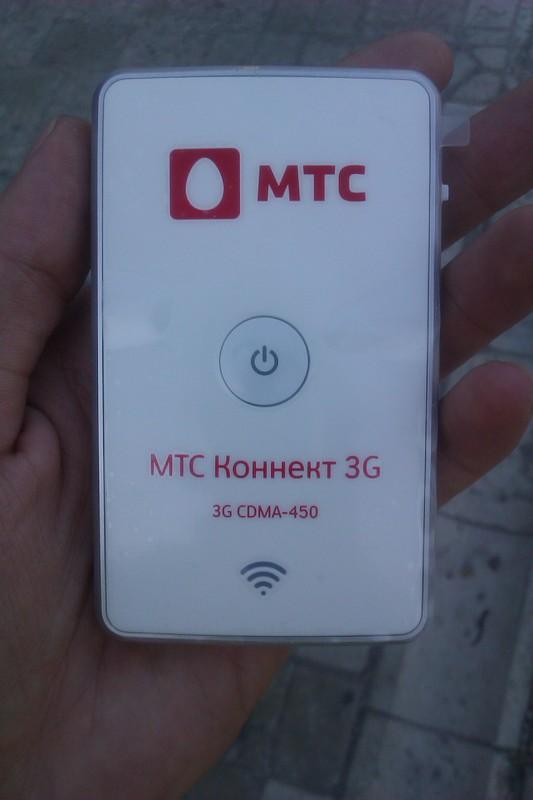 «МТС Коннект»: 3G роутер (Wi Fi) \ WeTelecom WM R100