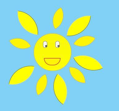 «Рисуем» солнце с помощью html/css