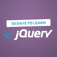 Веб-разработка / Изучить jQuery за 30 дней