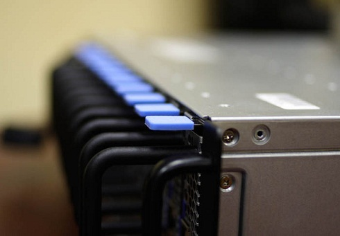 132 сервера в одной стойке