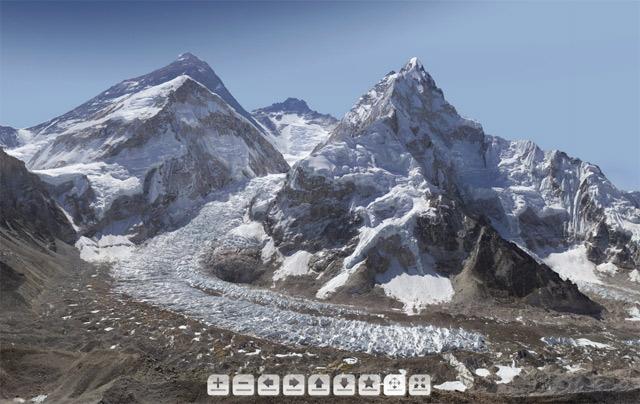 2 гигапиксельная фотография Эвереста