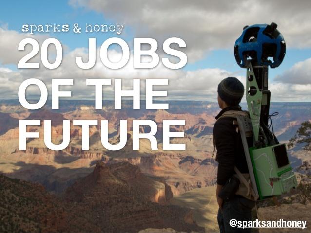 20 профессий будущего