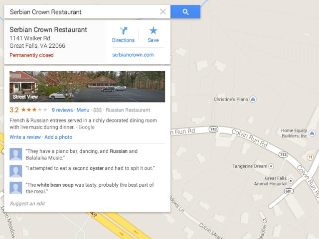 Как с помощью Google Maps обанкротить компанию