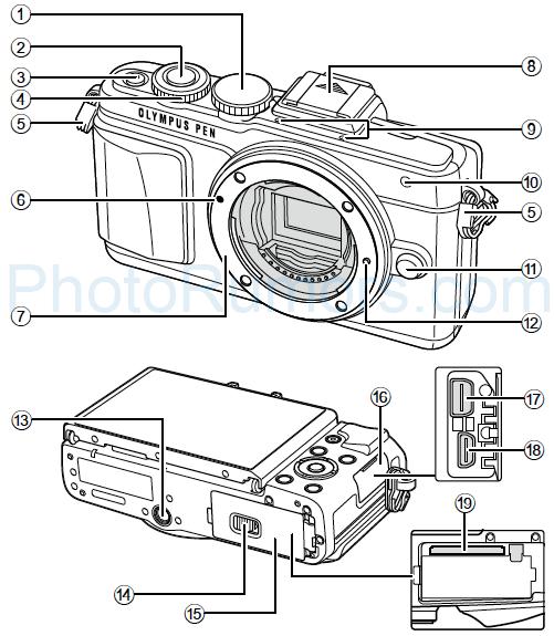 Уже известны предварительные спецификации камеры Olympus PEN E-PL7