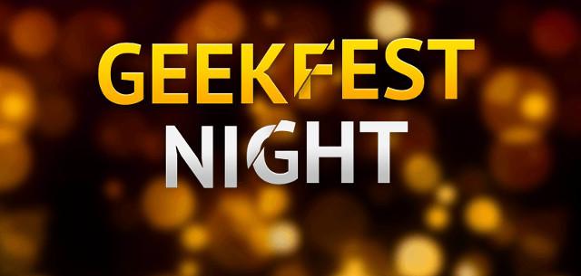 Приглашаем на GeekFest Night 26 июля