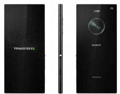 Предварительное изображение смартфона Sony Xperia Z3X