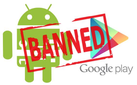 За что блокируют разработчиков Google Play