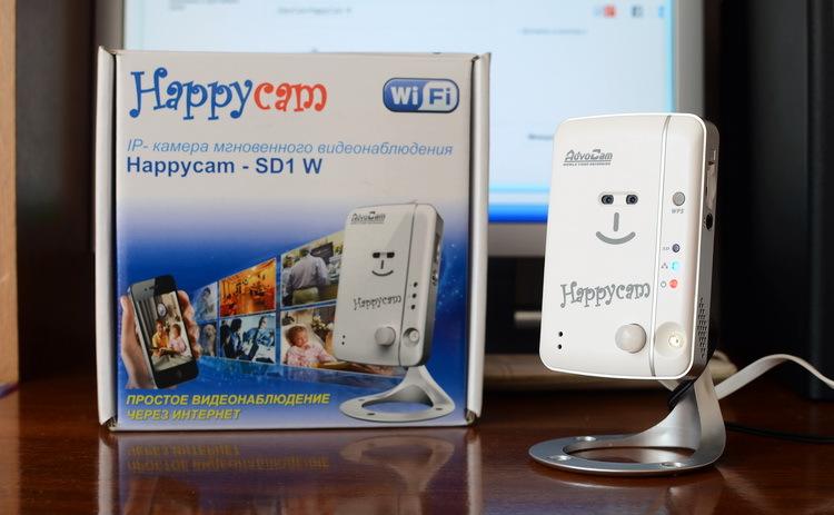Домашнее видеонаблюдение «без осложнений»: обзор AdvoCam HappyCam