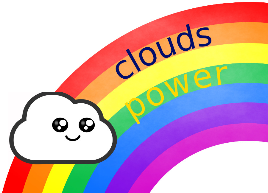 clouds power