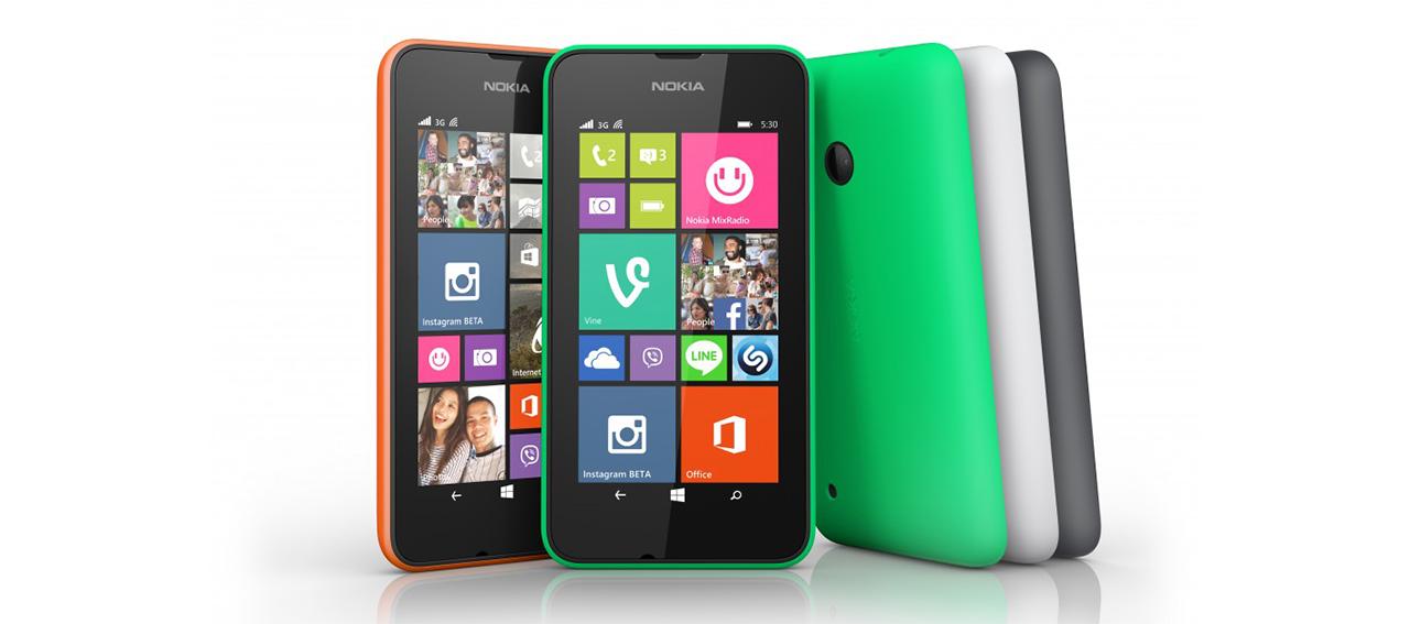 Анонсирован Nokia Lumia 530