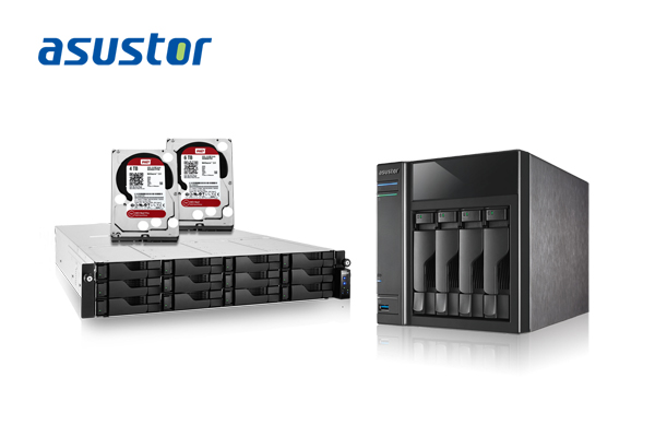 Максимальный объем NAS Asustor 7-й серии будет равен 48 ТБ