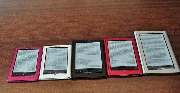 Sony уходит с рынка электронных книг