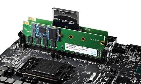 Модули Apacer Combo SDIMM были показаны на выставке Computex в июне