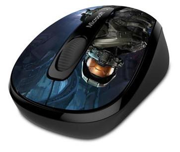 Мышь Microsoft Wireless Mobile Mouse 3500 Halo Limited Edition: The Master Chief ориентирована на поклонников серии игр Halo