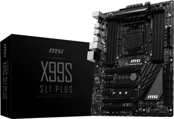 Спецификации MSI X99S SLI Plus производитель не приводит