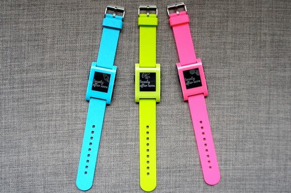 Pebble Watch color