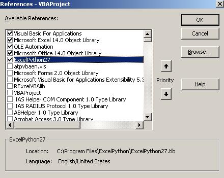 Интеграция MS Excel и Python