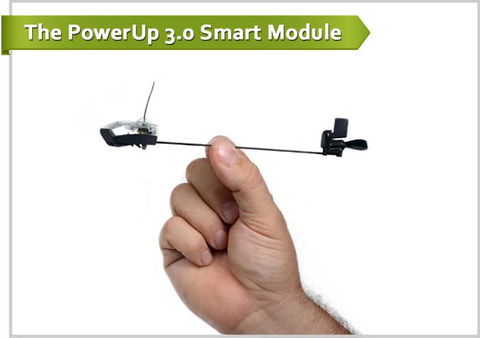 Самолетик оригами и радиоуправление: проект PowerUP 3.0 вышел в люди