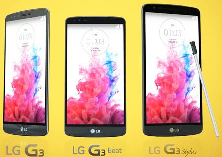 LG G3 Stylus не сможет противостоять Samsung Galaxy Note 4
