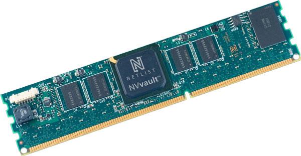 В модулях NVvault NVDIMM используется контроллер собственной разработки Netlist