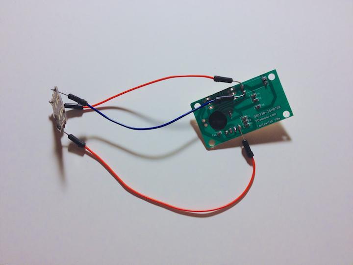 Прототип Vim-педали