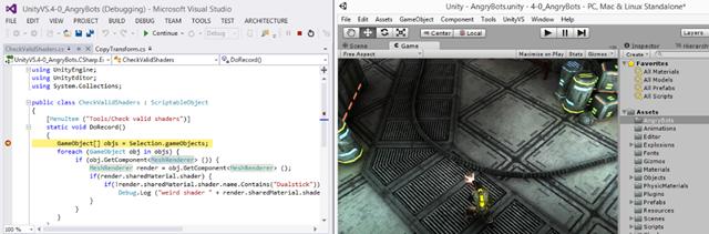 Первый релиз Visual Studio Tools for Unity 1.9 после покупки SyntaxTree