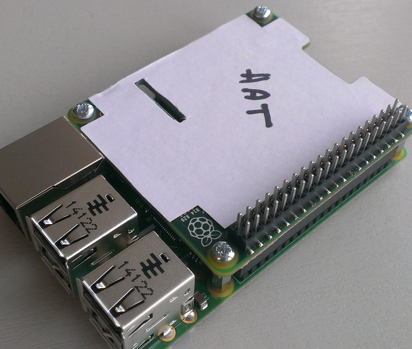 Разработчики Raspberry Pi представили новые спецификации плат расширения для Raspberry Pi B+