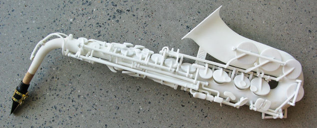 The First 3D-Printed Saxophone Sounds Surprisingly Decent