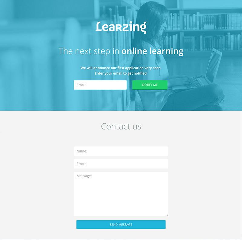 Как мы делали образовательную платформу: первый дизайн, landing page и логотип