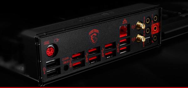 Системная плата MSI X99S Gaming 9 AC рассчитана на процессоры Haswell-E