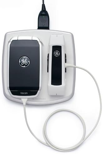 Vscan: портативный ультразвуковой сенсор от GE Healthcare