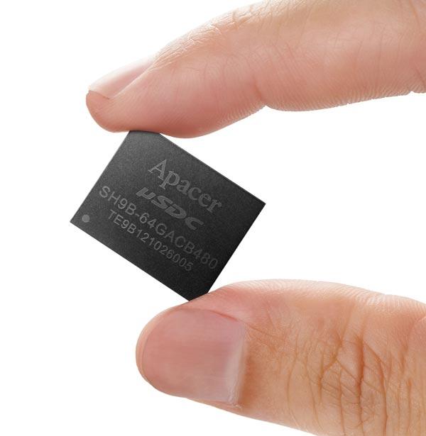 В настоящее время доступны ознакомительные образцы Apacer μSDC-M Plus