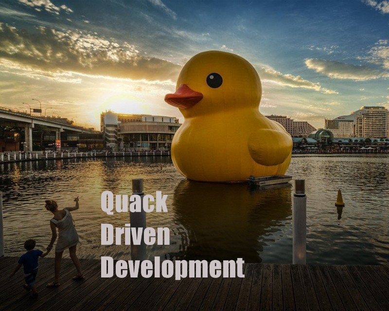 TDD — «утка». Введение в Quack Driven Development. Современная waterfowl методология для программистов