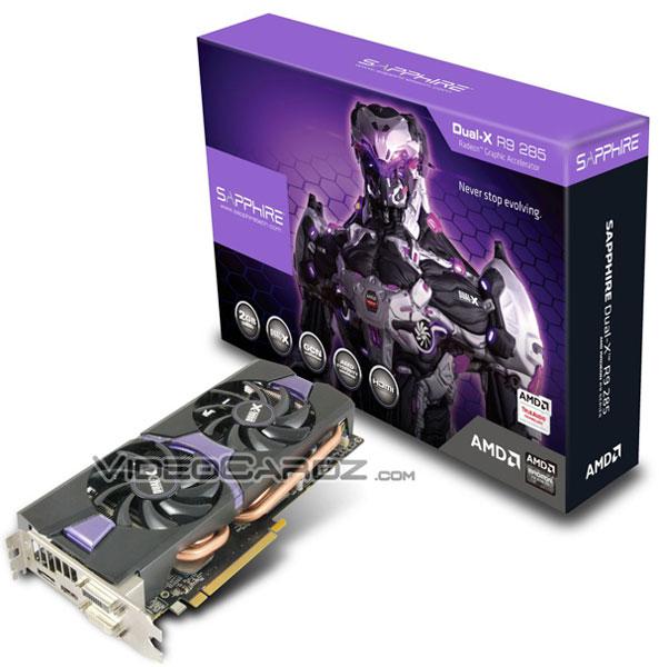 Sapphire Radeon R9 285 Dual-X