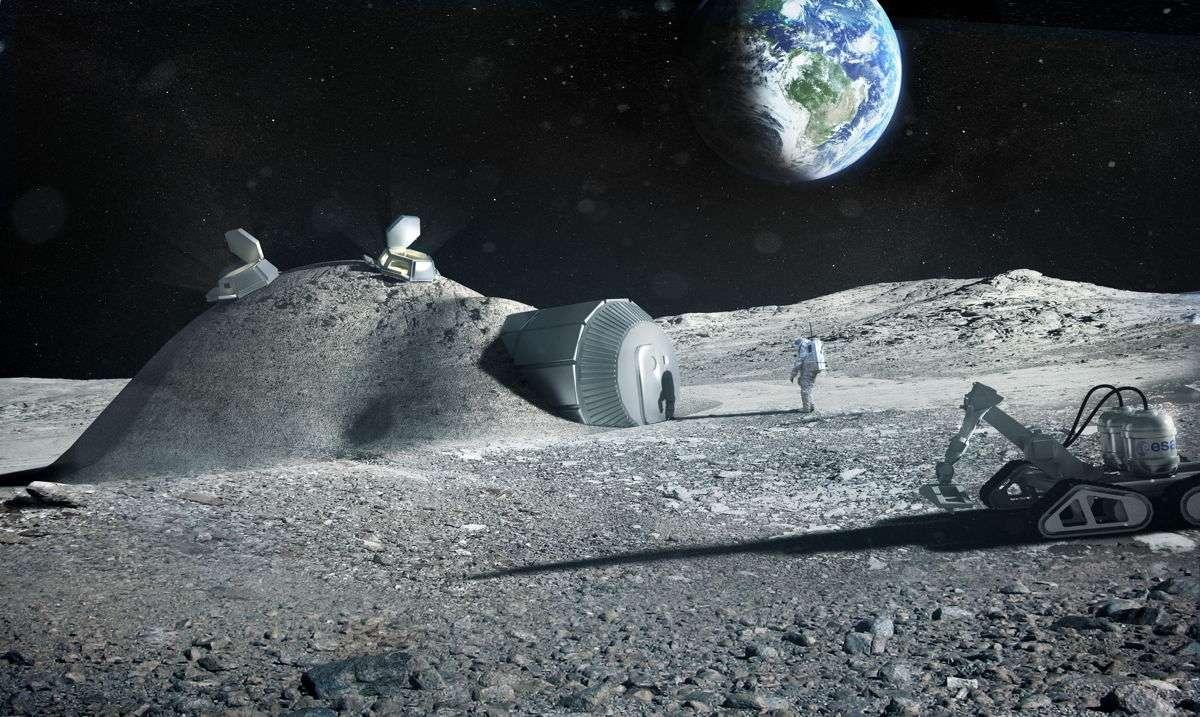 Роскосмос планирует построить наземный прототип лунной базы в 2018 2020 гг