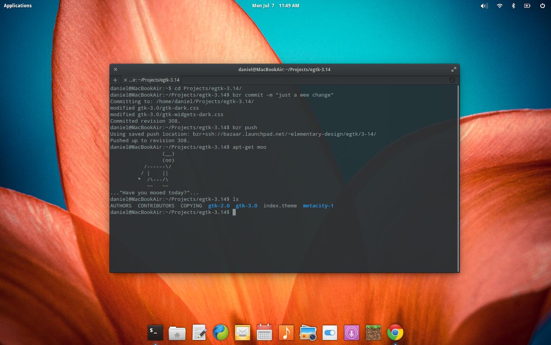 Состоялся релиз бета версии дистрибутива Elementary OS 0.3 Freya