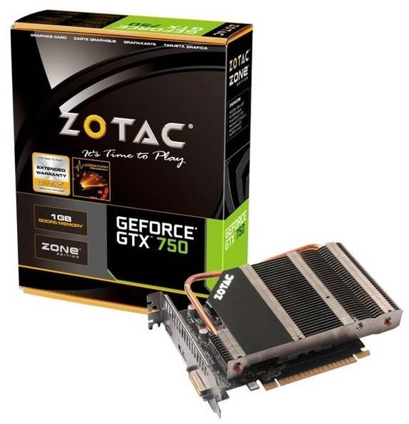Zotac GTX 750 Zone Edition