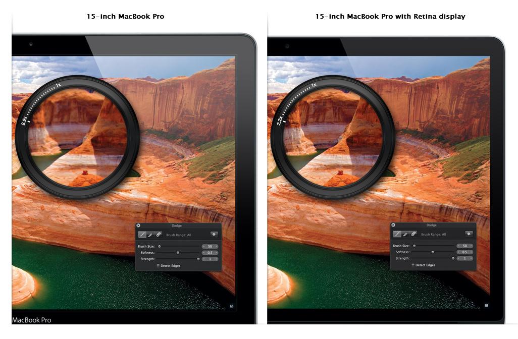 Дизайн и MacBook с Retina дисплеем