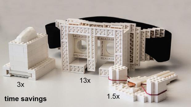 Полдня за час — ускоряем создание прототипов с faBrickator и LEGO