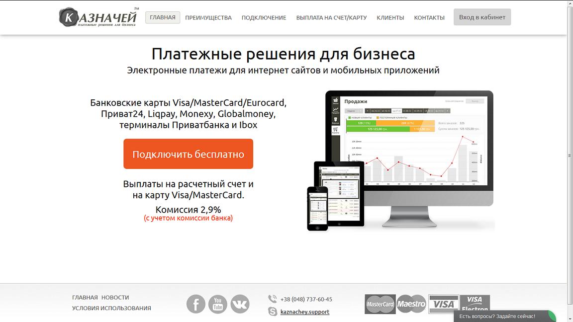 Обзор платежной системы «Казначей»