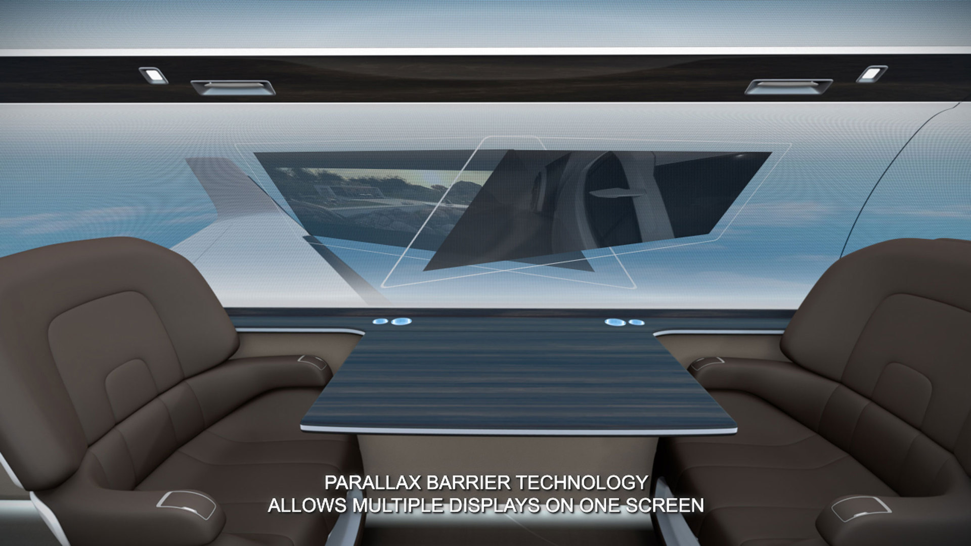 IXION — новый концепт «прозрачного» самолета
