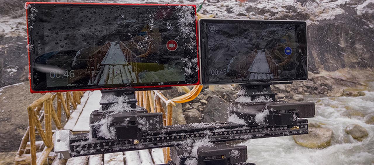 Nokia Lumia в руках профессиональных фотографов