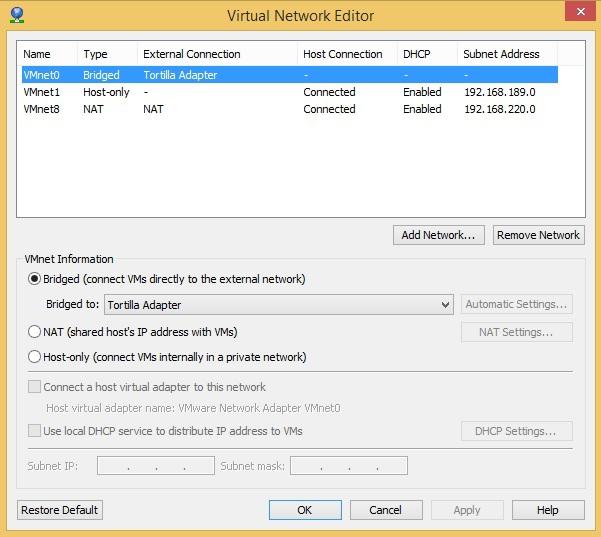 Tortilla — весь TCP и DNS трафик из виртуальной машины через TOR