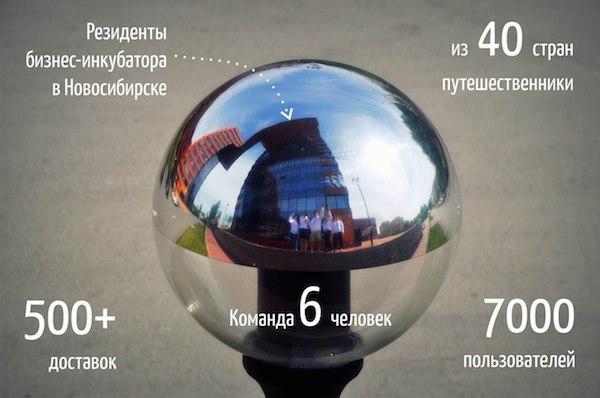 Доставка Путешественниками: краудфандинговый проект из Сибири