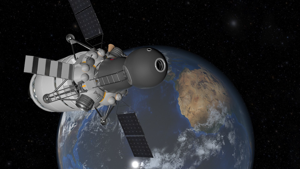 Луна 7 или SpaceX по русски
