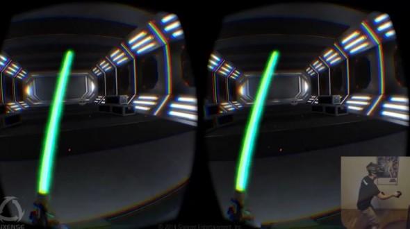 Oculus Rift и STEM делают световые мечи реальностью
