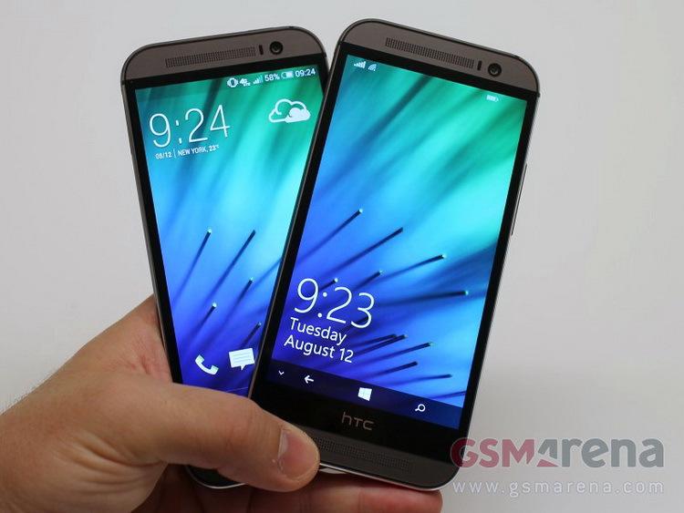 HTC One M8 с WP 8.1 расходует батарею экономнее Android версии