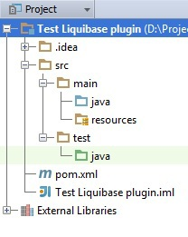 Использование liquibase плагина для Maven